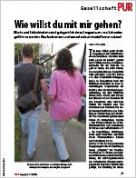 PUR magazin 11/2016: Wie willst du mit mir gehen? | Link öffnet PDF in neuem Fenster