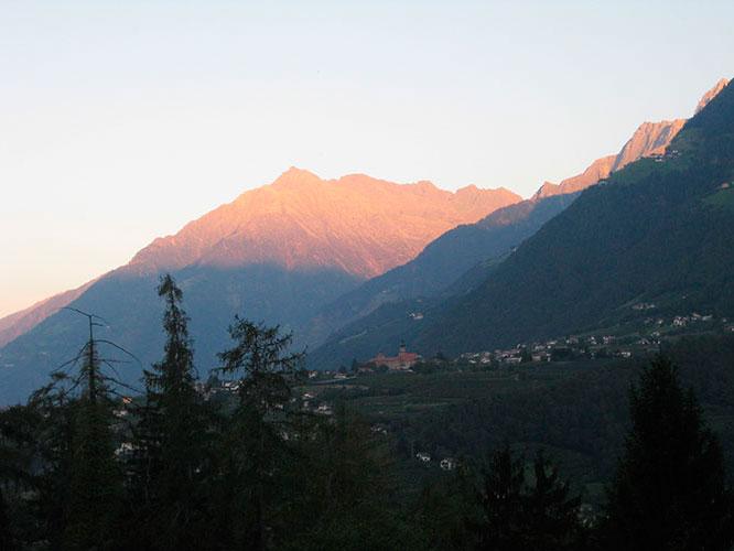 Alpenpanorama Schenna, Südtirol