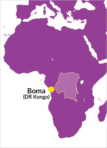 Pfarrei St. Ferdinand in der Diözese Dizi (Kongo)