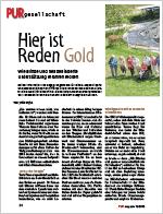 PUR magazin 12/2015: Hier ist Reden Gold | Link öffnet PDF in neuem Fenster