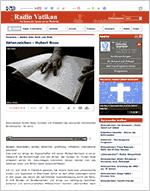 Vorschau Aktenzeichen - Hubert Roos (Radio Vatikan)