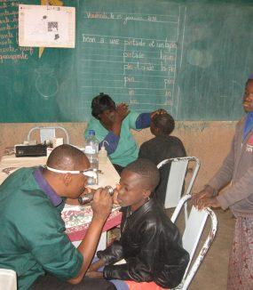 Augen- und Hörscreening in Garango