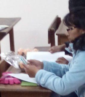 Alphabetisierungskurse in Brailleschrift