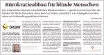 MediaPlanet März 2019: Bürokratieabbau für blinde Menschen | Link öffnet PDF in neuem Fenster
