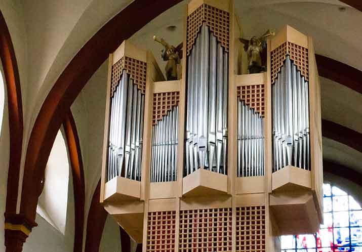 St. Thomas an der Kyll, Orgel · Foto: Stefan Barth