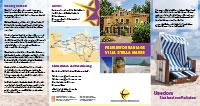 """Flyer mit Informationen zur Villa """"Stella Maris"""""""