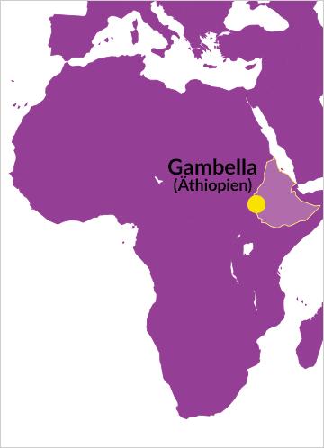 Diözese von Gambella, Äthiopien