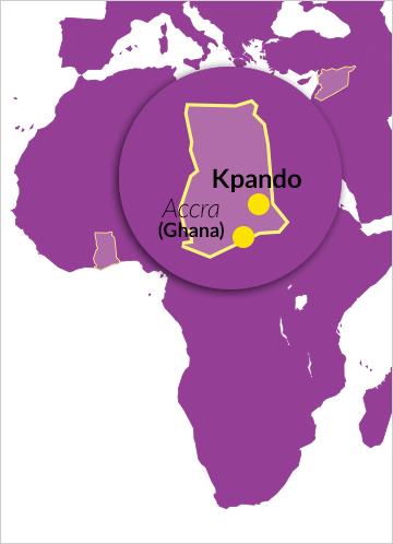 Margret-Marquart Catholic Hospital in Kpando in der Volta-Region (Ghana)