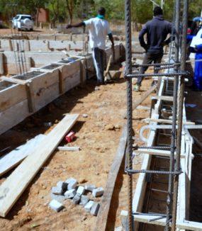 Aufbau einer Augenstation in Garango