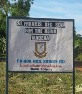 UGANDA/ Soroti – St. Francis Secondary School for the blind