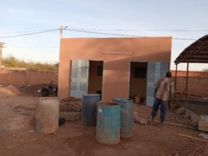 Ein Bild von den vortschreitenden Bauarbeiten für das neue Gebäude