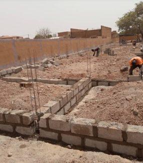Burkina Faso – Neubau einer Schule im Blindenzentrum Ouagadougou